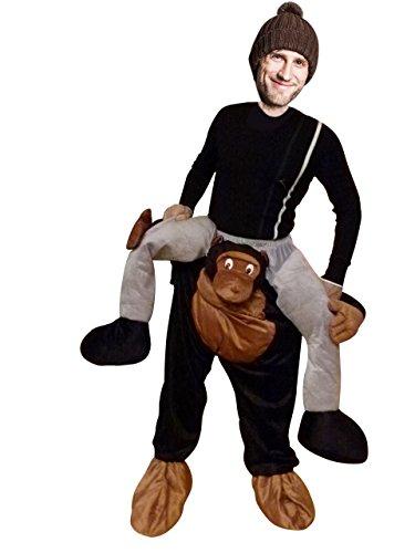PUS Carry-me AFFE-n Kostüm-e F102 One Size, Kat. 3, Achtung: B-Ware Artikel. Bitte Artikelmerkmale lesen! Frau-en und Männer Tier-e Fasnacht-s Fasching-s Karneval-s Geburtstag-s Geschenk-e