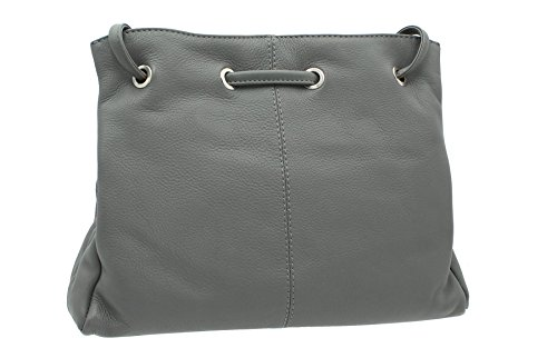 BollaBags, Borsa a spalla donna, Grey (Grigio) - Canford Grey