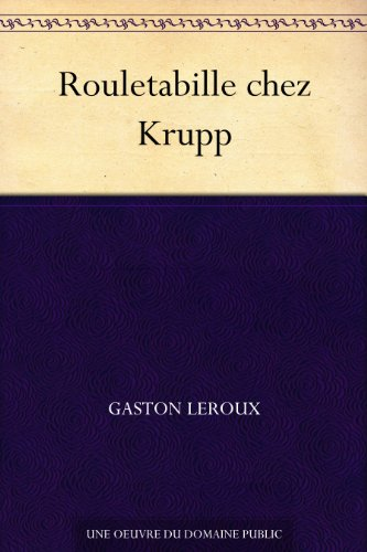 Couverture du livre Rouletabille chez Krupp