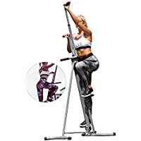 MaxiClimber The Unisex Vertical Climbing Fitness System by New Image Plus 3 Year Extended Warranty (As Seen on High Street TV)