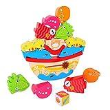 XDDQF Bausteine FüR Kinder,Marine Balance Bausteine Kinderspaß Zum BAU Von Bausteinen Spielzeug Lernspielzeug