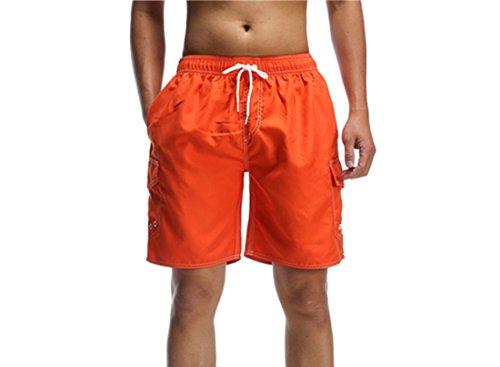 ORANSSI Herren Badehose Strand Surf Shorts