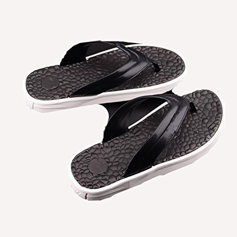 Sommer Flip Flop Männer Einfache Rutschfeste Bad Sandalen  Hausschuhe Freizeit Flip Flops Massage Strand Schuhe