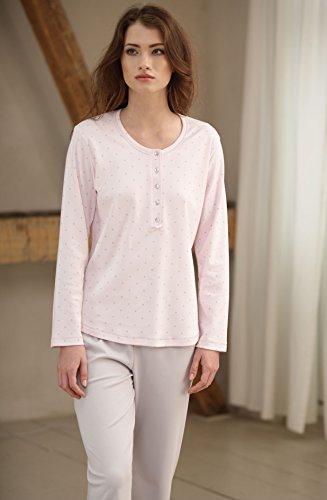 ... CANA nouvelle klassischer Schlafanzug / Pyjama mit Knopfleiste aus 100%  Baumwolle, made in EU ...
