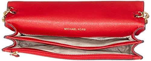 Michael Kors - Daniela, Borse a secchiello Donna Rosso (Bright Red)
