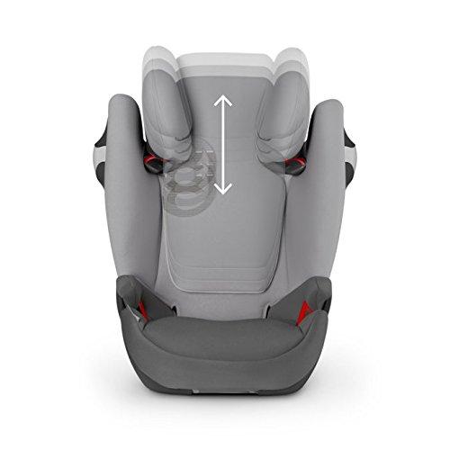 Cybex Gold Solution M-fix, Autositz Gruppe 2/3 (15-36 kg), Kollektion 2017, manhattan grey, mit Isofix -