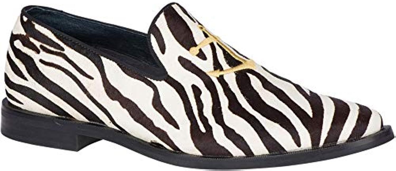 Sperry Men's Overlook Leather Smoking Slipper Zebra 11.5 M US M (D) | Prodotti di alta qualità  | Maschio/Ragazze Scarpa