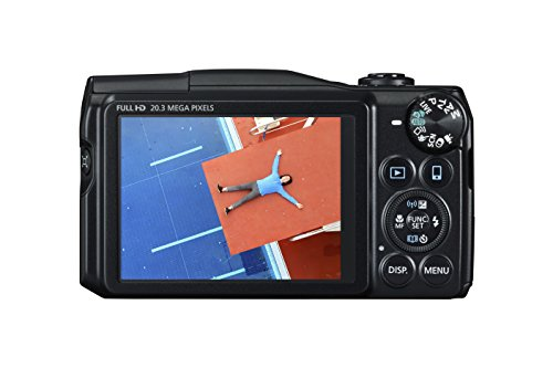 Cheapest Price for Canon SX710 PowerShot Point and Shoot Digital Camera – Black on Amazon