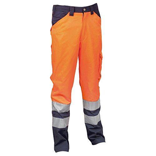 Cofra Encke V291pantaloni 245G/m² Encke V291lavoro pantaloni in segnale Colore, colore arancione, 40–00arancio–XXXXL.