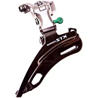FireCloud Cycles SHIMANO Altus FD-CT20 BOTTOM PULL 28.6mm FRONT Gear Derailleur Silver and Black