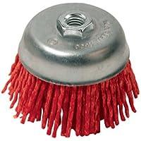 Silverline 220410 - Cepillo abrasivo con filamentos de nylon (100 mm, grueso)