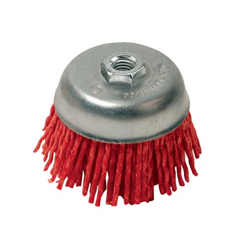Silverline 220410 Spazzola di fili nylon abrasivi a tazza 100 mm