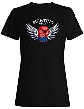 Boxeo Box Hombre Vs Club camiseta de las mujeres m689f
