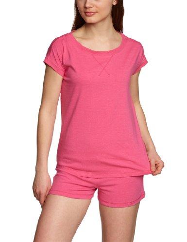 BeeDees - T-shirt - Manches courtes Femme Rouge - Pink (PINK MELANGE (WG))