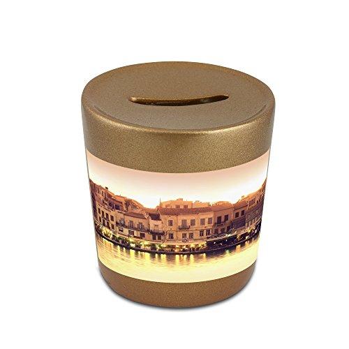 money-box-with-greece-crete-chania-venetian-port-harbour