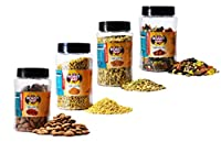 Roastway Foods Roasted Almonds and Jeggery Fennel(Mouth Freshner) and Premium Seeds Mix and Dry Fruits Trails Mix