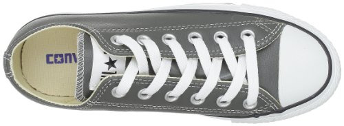 Converse Chuck Taylor All Star Core Lea Ox, Baskets mode mixte adulte Anthracite