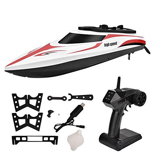 Jadpes RC-Schiffsmodell, RC-Fernbedienung, Mini-Bootsrennsport-Schnellbootmodell, Kinderspielzeugfahrzeug, Schiff