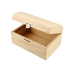 Uni Holz Schatztruhe Aufbewahrung Brust Mittelmeer Art Craft Schmuck Box