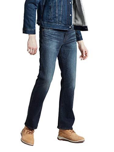 Levi's Herren 527 Slim Boot Cut Bootcut Jeans, Blau (Durian Super Tint Overt 0600), W34/L32 (Herstellergröße: 34 32) Slim Denim Pant