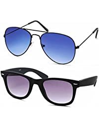 Stacle Premium Flash Mirrored Aviator Sunglasses For Men And Women (Single, Combo Pack Of 2 And 3) (ST5203) (Premium...