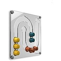 PlexiDisplays 143133 - Dispensador de cápsulas de Nespresso, color transparente