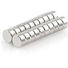 Oblique Unique 20 Mini Magnete - NEODYM - ultrastark - 6x3mm - Original