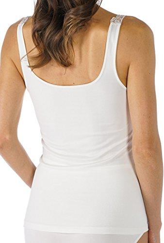 Mey Basics Emotion Elegance Damen Tops breiter Träger 55352 Weiß