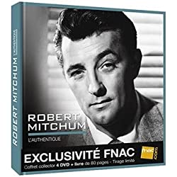 COFFRET 4 DVD ROBERT MITCHUM + LIVRE 80 PAGES - TIRAGE LIMITE