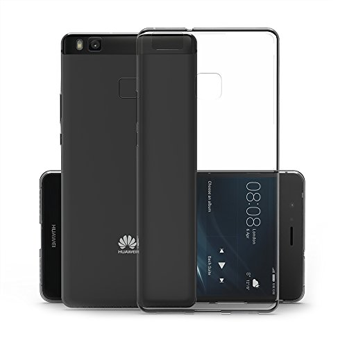 Canwn Huawei P9 Lite Hülle, Durchsichtig Silikon Schutzhülle Huawei P9 Lite 5,2 Zoll Transparent Handyhülle Crystal Clear TPU Case