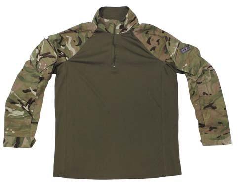 Brit. Combat Shirt, MTP tarn, Armour, gebr.