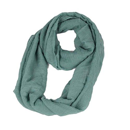 Vovotrade mujer bufanda caliente retro chal de algodón de cáñamo...