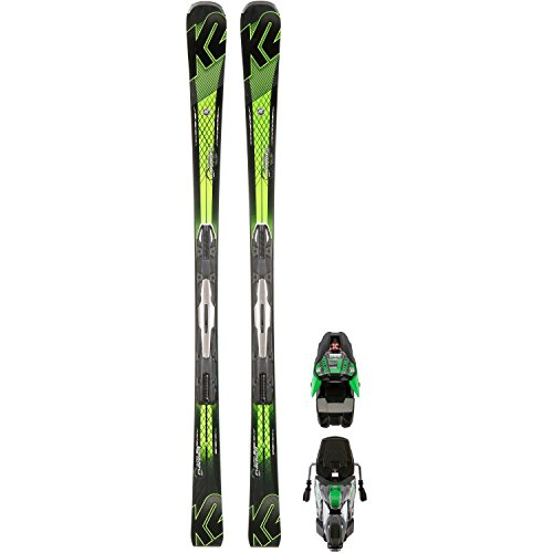 K2 All-Mountain Ski schwarz 161 -