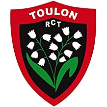 Autocollant rugby - Rugby Club Toulonnais - RCT