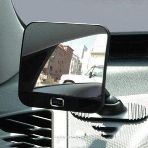 HaiMa Miroir De Miroir De Voiture De Fouring Spot-Noir