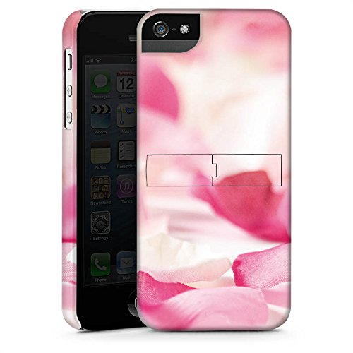 Apple iPhone X Silikon Hülle Case Schutzhülle Blütenblätter Blume Orchideenblätter Premium Case StandUp