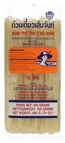 Farmer Brand Nouilles de Riz 10 mm Taille XL 400 g - Lot de 5