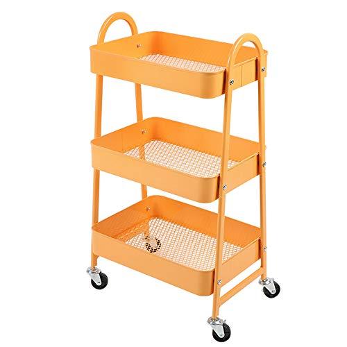 Zhihui Podeste Rahmen ZZHF yushizhiwujia Regal, mobiler Rack-Trolley IKEA mit Rad Schlafzimmer...