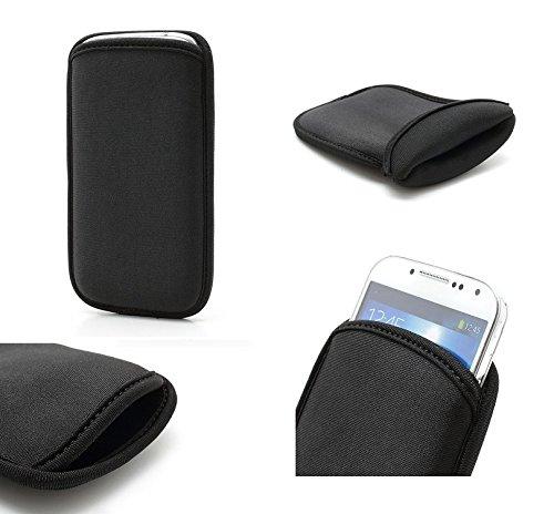 DFV mobile - Neoprene waterproof bag soft pouch case cover > pantech vega secret note, color black (Cover Handy Pantech)