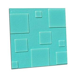 HJDQ Los paneles de pared 3D – adhesivo Diseño de papel de pared pegatinas de pared Peel y imágenes Palo para Rosa roja 30x30cm