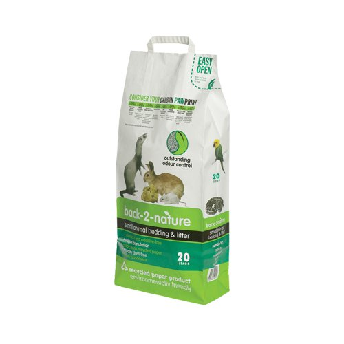 back-2-nature 12 – 49020 Pellets Recyclingpapier, 20 L