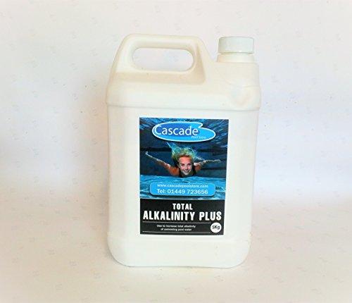 Cascade Pools 5kg alcalinité totale Plus–piscine/SPA chimique