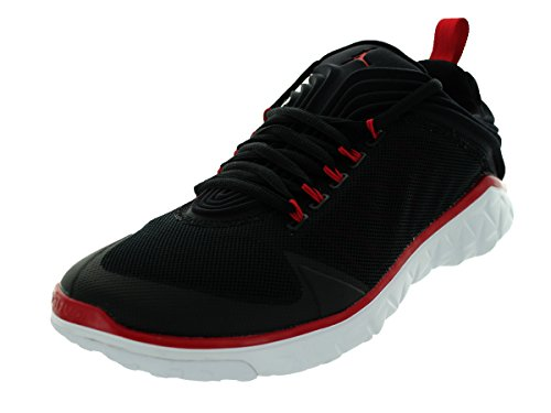 Jordan Flight Flex Entraîneur de basket-ball Chaussures Taille Black/Gym Red/White