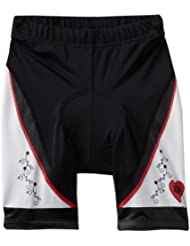 Pearl Izumi - Pantalones cortos de ciclismo infantil, tamaño M, multicolor