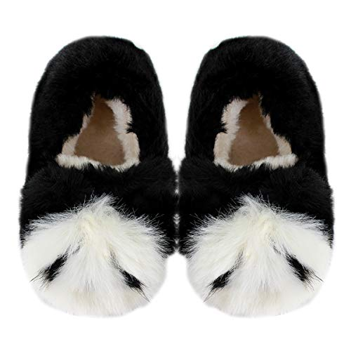 Millya Toddlers Winter Panda Plush Warm Slippers
