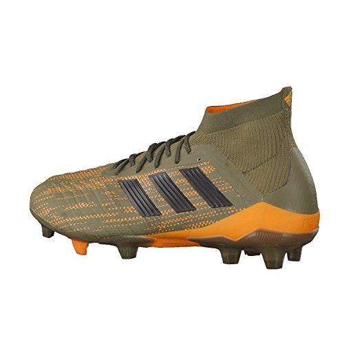 adidas Herren Predator 18.1 FG Fußballschuhe Grün (Trace Olive/Core Black/Bright Orange)