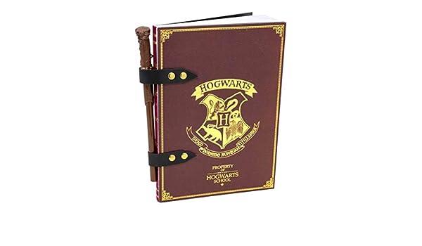 Blue Sky Designs Harry Potter-Notizbuch und Stab-Bleistift-Set