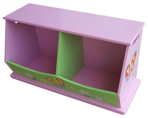 Liberty House Toys 2-bin Unité de rangement pour filles