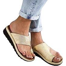 Henreal Zapatos de Mujer cómodos con Plataforma y Sandalias Zapatos de Viaje de Playa en Verano
