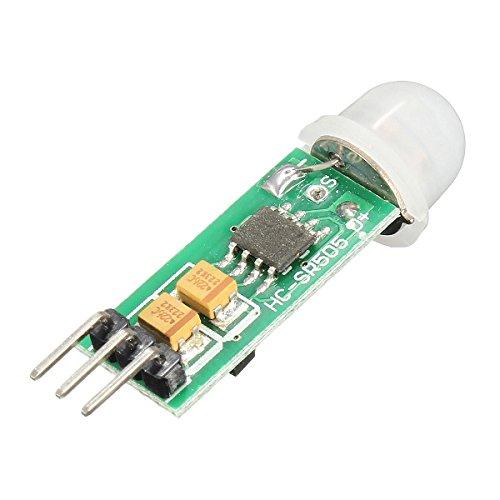 Ils - 3 Pièces HC-SR505 Mini Infrarouge PIR Détecteur de Mouvement Précis Module Détecteur Infrarouge